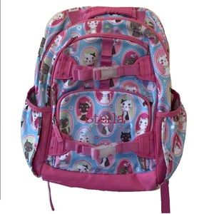 Pottery Barn Kids Artistic Cats Mackenzie Backpack